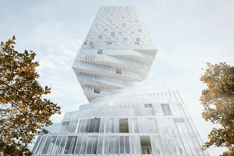 Вращающаяся башня в Вене_vertaki_1