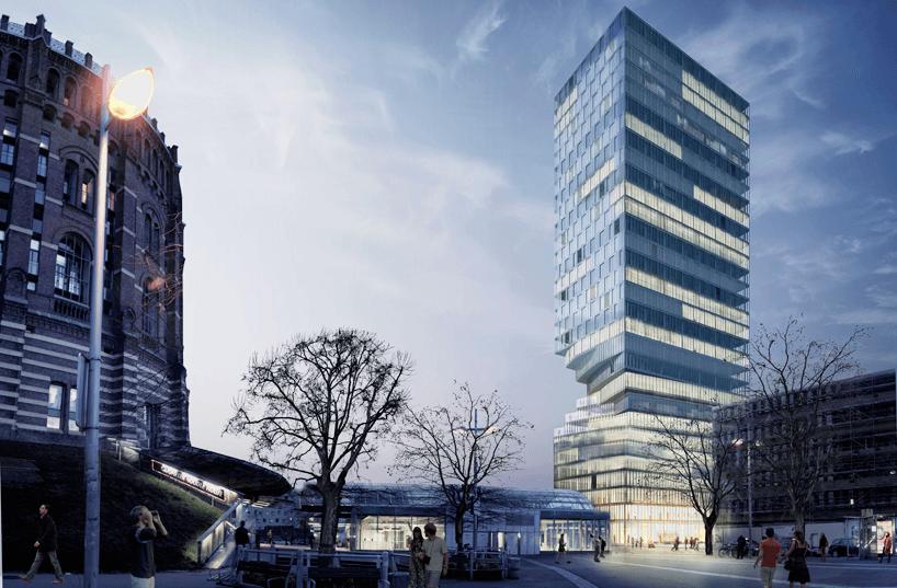 Вращающаяся башня в Вене_vertaki_8