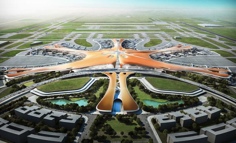 Крупнейший в мире аэропорт от Заха Хадид_1