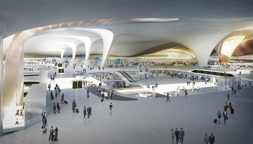 Крупнейший в мире аэропорт от Заха Хадид_2