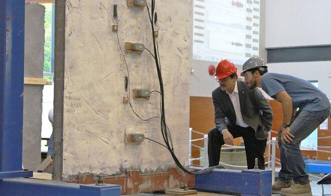 Эко-бетон прочнее стали и не боится землетрясений
