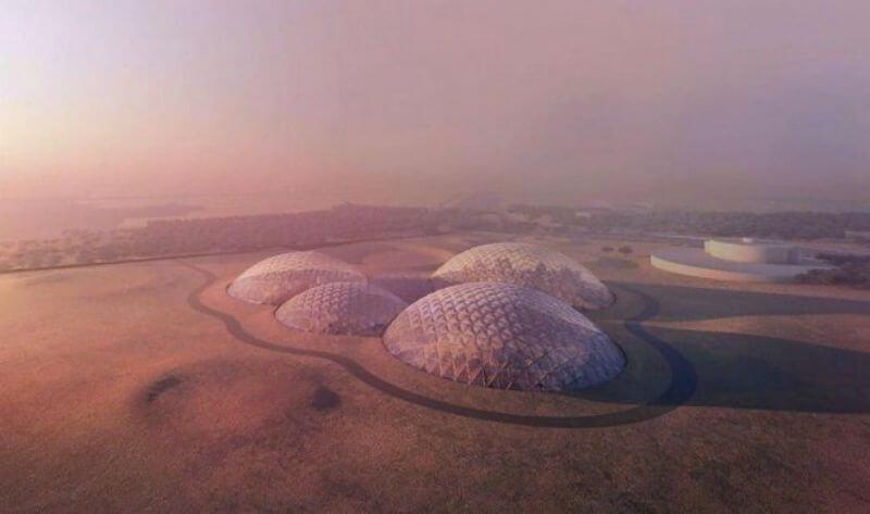 Марсианское поселение в Дубае