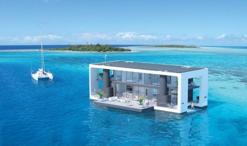 Дом на воде класса люкс