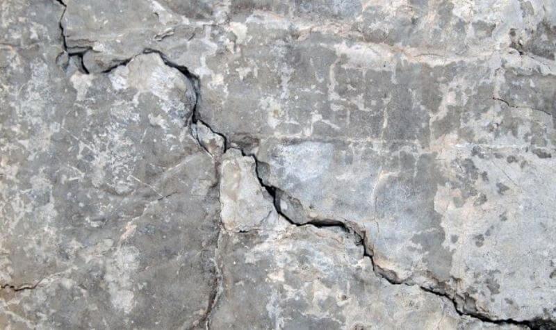 Новый бетон затягивает трещины