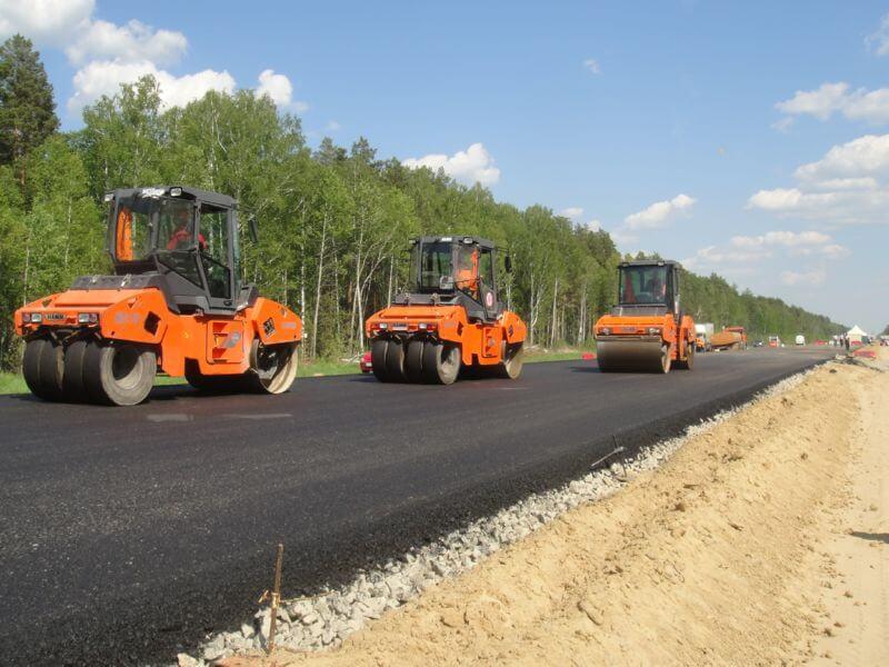 Строительство большой кольцевой дороги