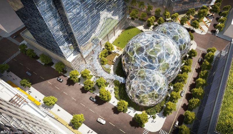 Новая штаб-квартира Amazon