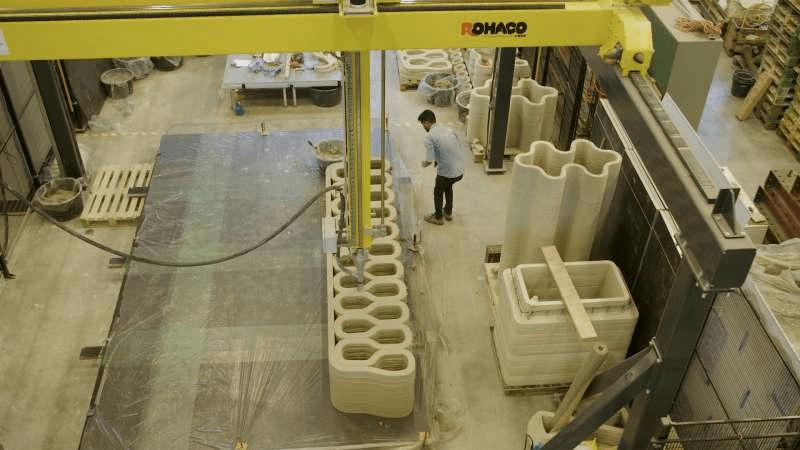 Микрорайон с 3D-печатных домов построят в Голландии