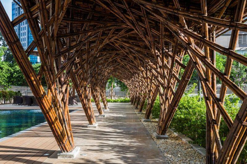 Бамбуковый павильон Вината