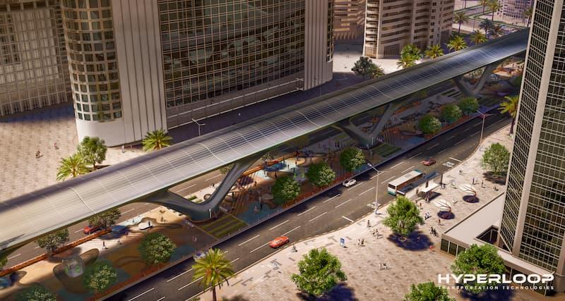 MAD проектирует дизайн HyperloopTT
