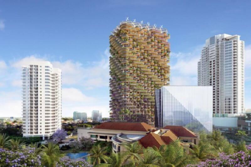 Деревянная башня LEED-Gold