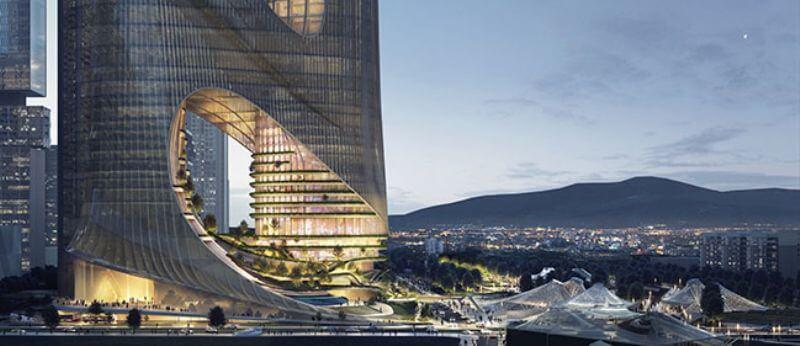 Оффис Shenzhen Bay от ZHA