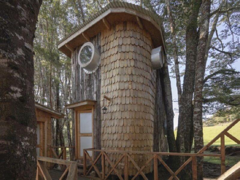 Домик на дереве в Чили